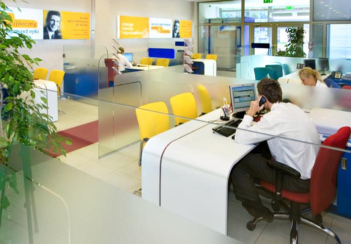 remont biura, interbiuro POLBANK EFG