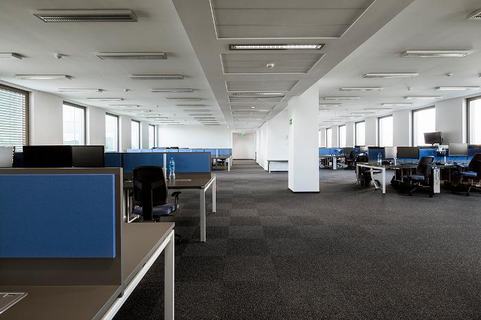 Xstream Sp. z o.o. projekt powierzchni biurowej