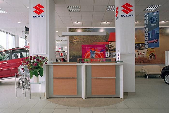 wykładzina do biura Suzuki Motor Poland Sp. z o.o.