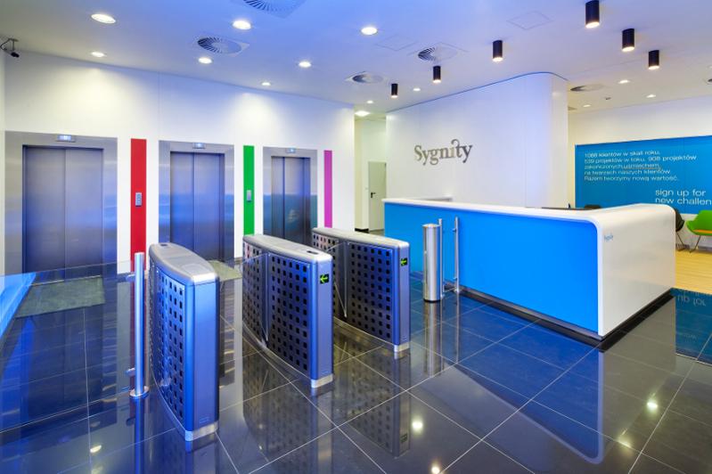 remont i wyposażenie biura Sygnity S.A