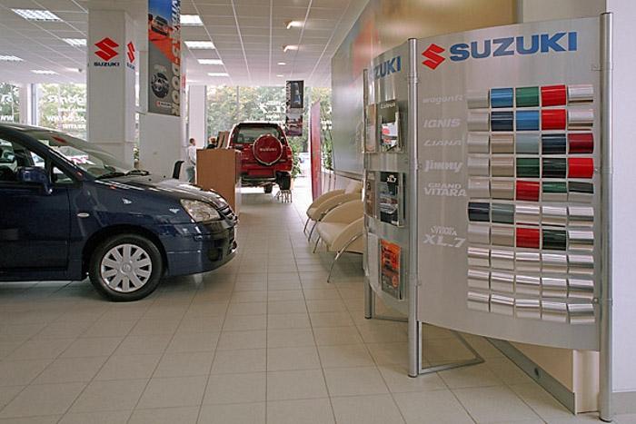 wykładziny w płytkach Suzuki Motor Poland Sp. z o.o.