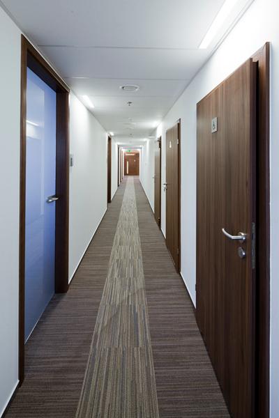 INFOR PL S.A., korytarz