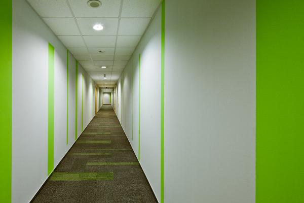 Lionbridge Poland Sp. z o.o., korytarz