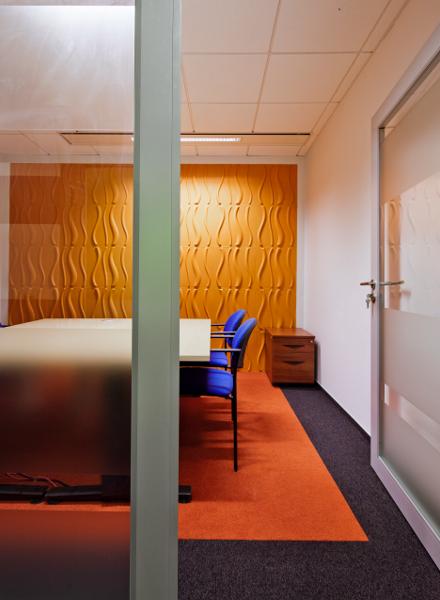 Fresenius Kabi Sp. z. o.o., nowoczesne wnętrza biurowe