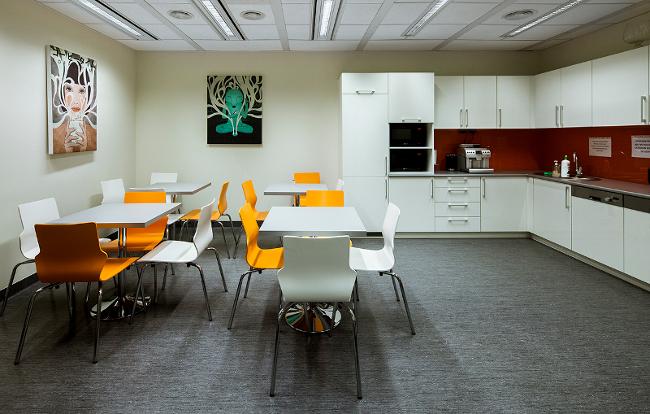 Grupa GrECo, nowoczesna kuchnia dla biura