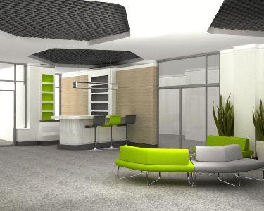 projekty koncepcyjne przestrzeni biura
