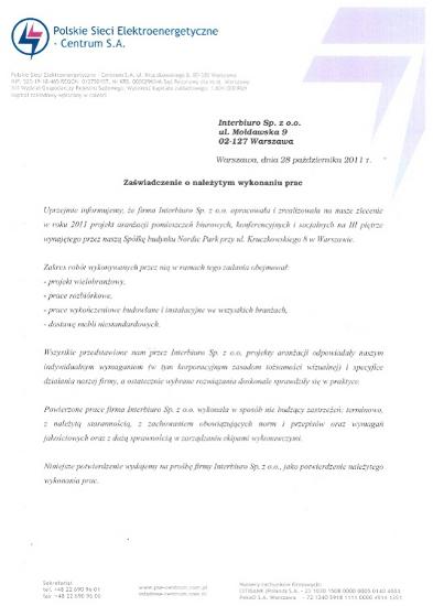 Referencje od PSE