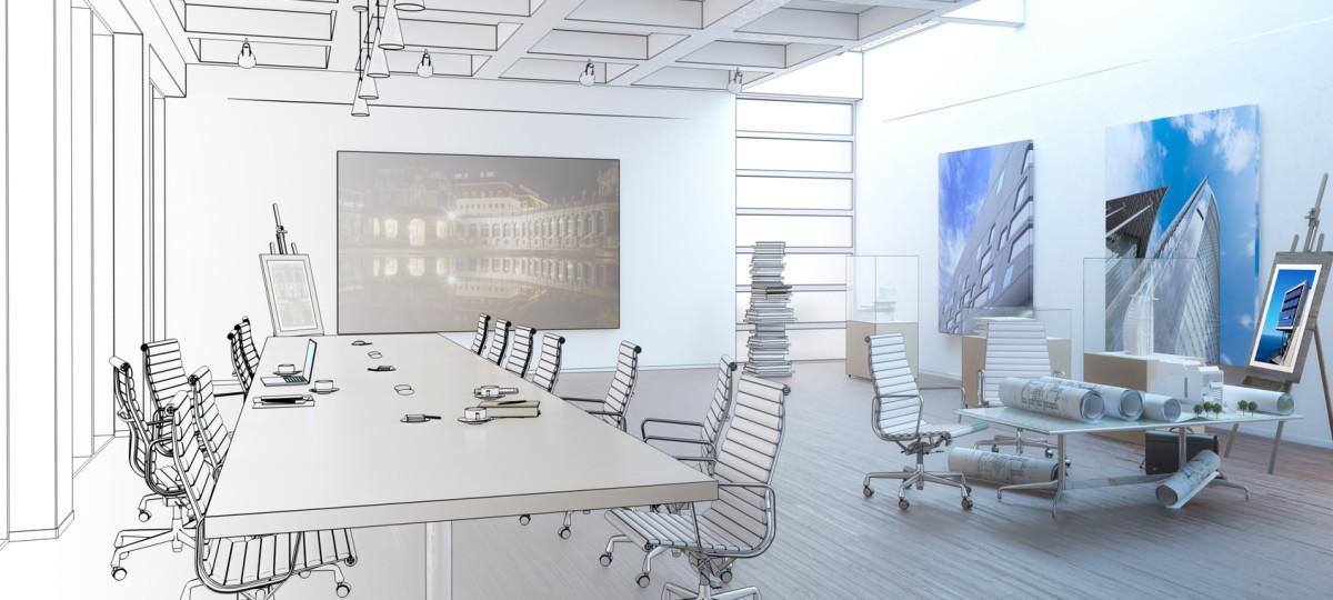 Planungsbüro (Zeichnung)