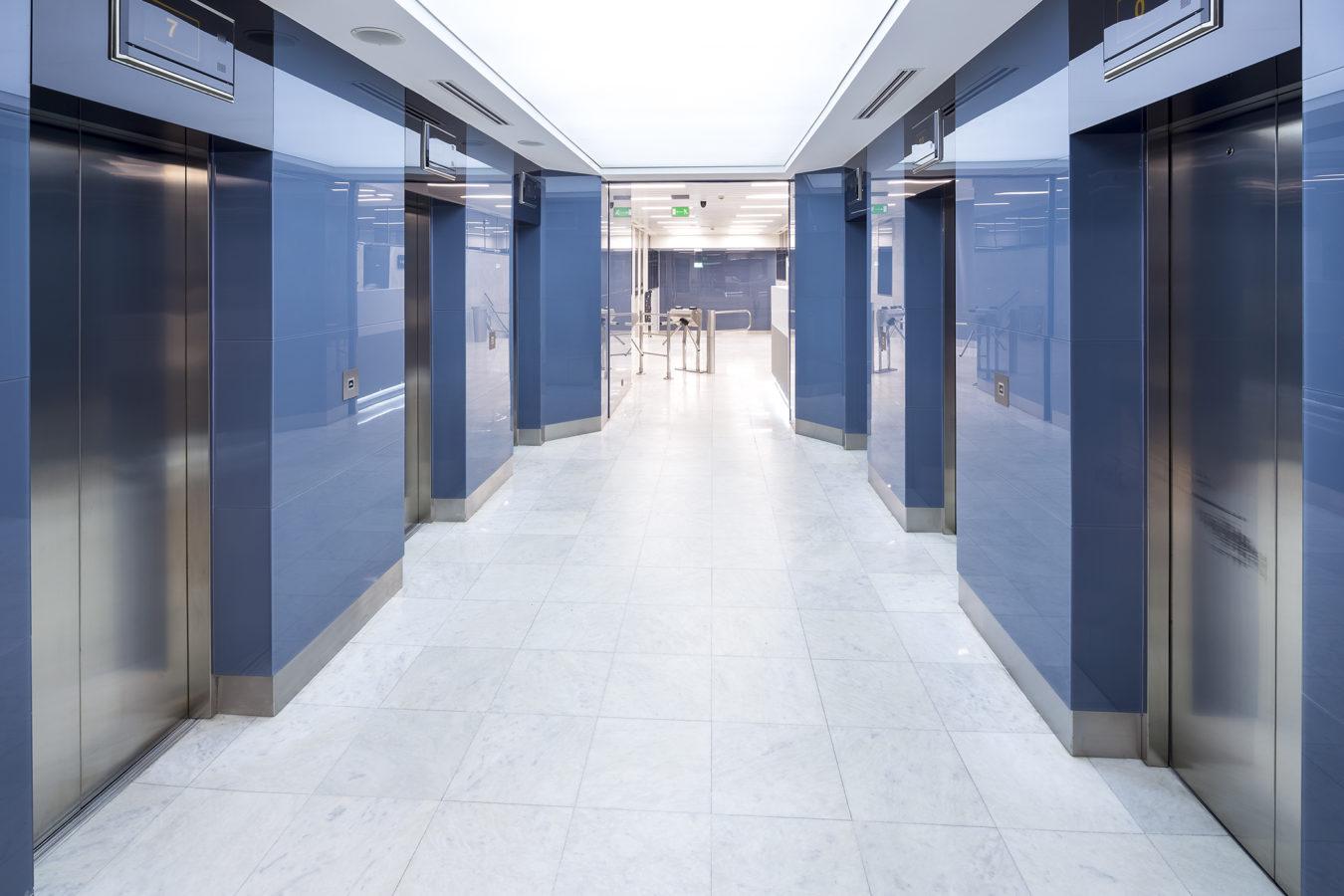 Blue Tower  realizacja INTERBIURO