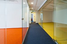 We deliver, install carpeting office and suspended ceilings