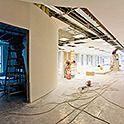 przestrzeń w trakcie remontu