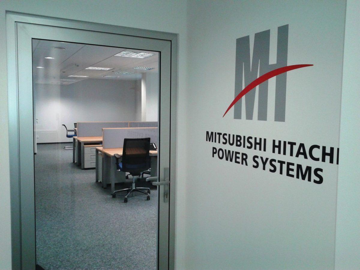 Mitsubishi1 - Realizacja w budynku Antares