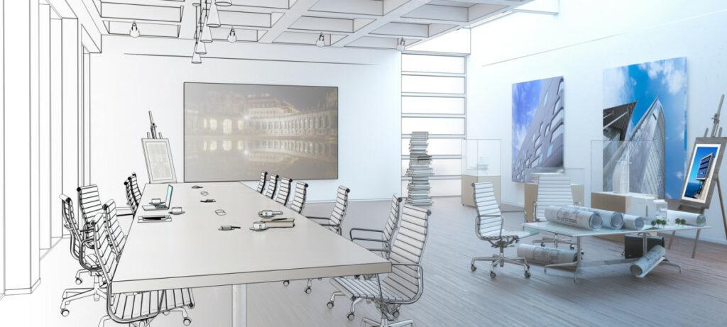 jak dobrze zaaranzowac powierzchnie biurowa 1024x461 - Jak dobrze zaaranżować powierzchnię biurową
