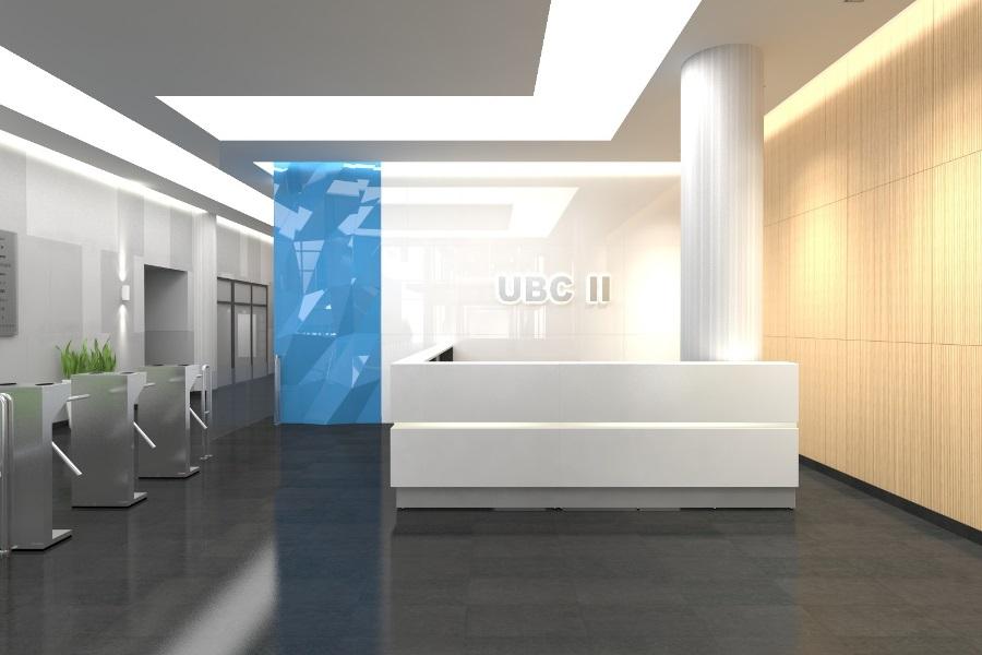 UBC II recepcja 2015 02 05 01 - Strefa wejściowa w UBC II