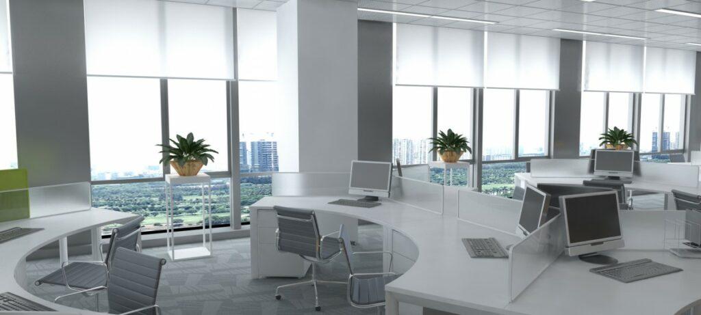 nowoczesny fit out powierzchni biurowej 1024x461 - Nowoczesny fit-out powierzchni biurowej