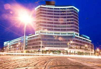 Grunwaldzki Center SPP noc2 - Realizacja w Grunwaldzki Center