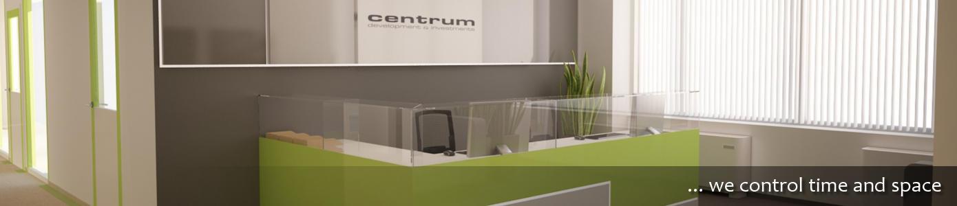 green modern reception interbiuro