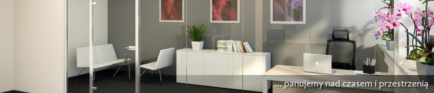 nowoczesne przestronne biuro