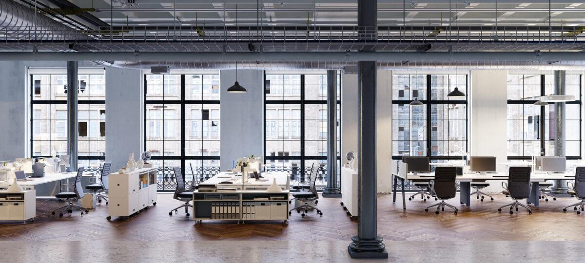 wnętrze biura fit-out