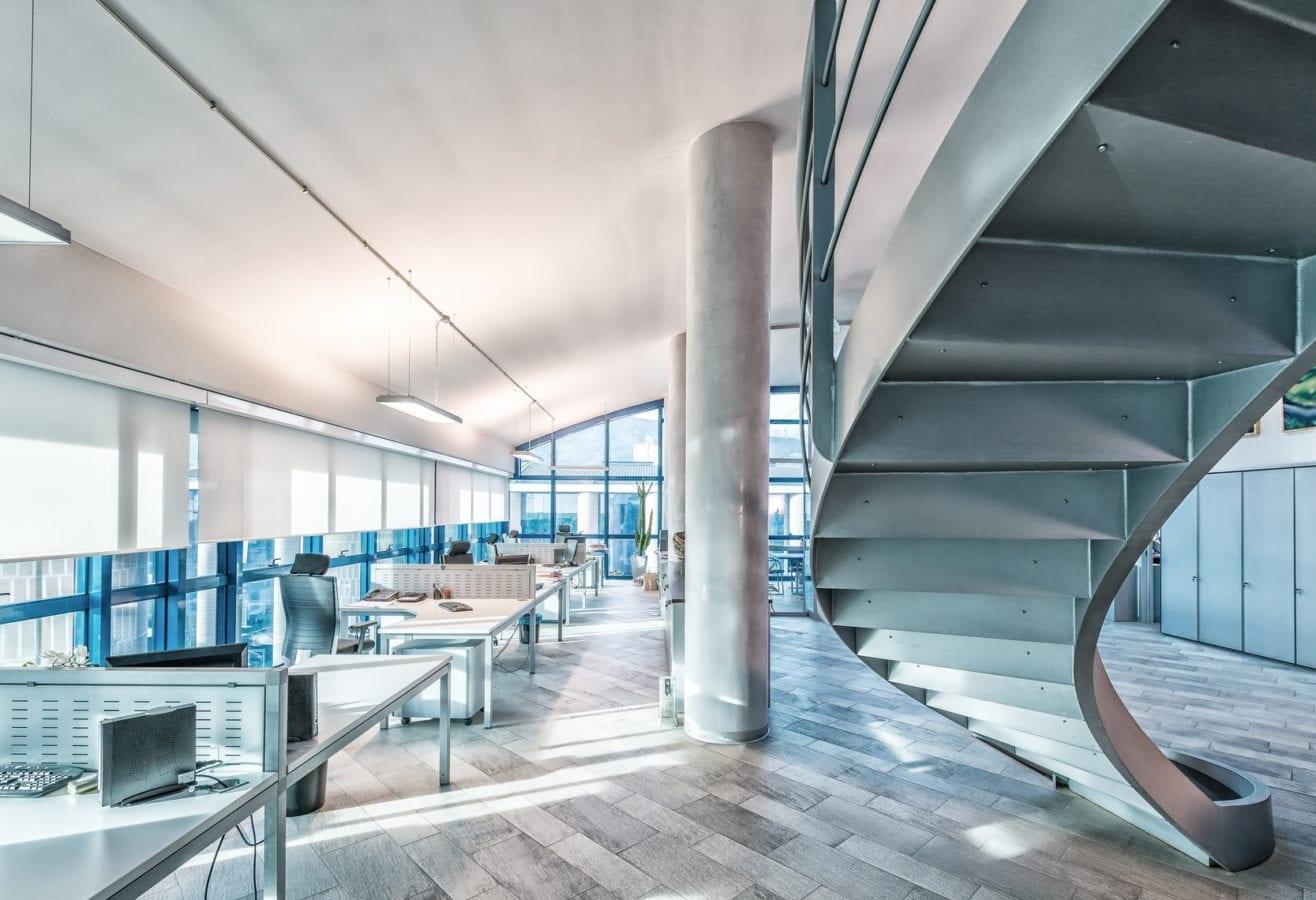 wnętrze nowoczesnego biura
