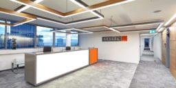 INTERBIURO realizacja GESSELfot Szymon Polanski 1 1 256x128 - Modernizacja w Warsaw Towers