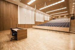 Aula Politechniki Lubelskiej realizacja INTERBIURO