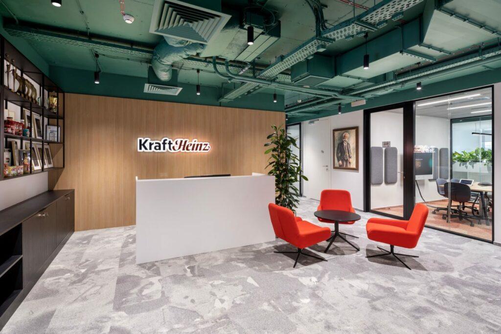 KRAFT HEINZ realizacja Interbiuro fot Szymon Polanski 0351 1024x683 - We design and do office space projects - Warsaw